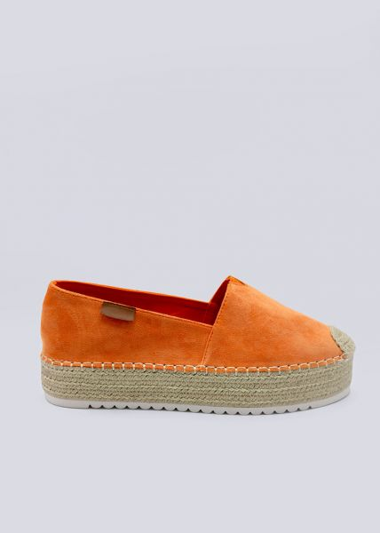 Plateau-Espadrilles, orange
