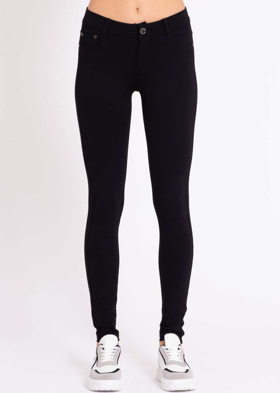 Highwaist Leggings, schwarz