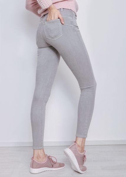 Skinny Jeans, hellgrau