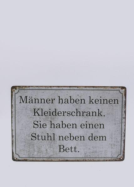 """Schild """"Männer"""""""