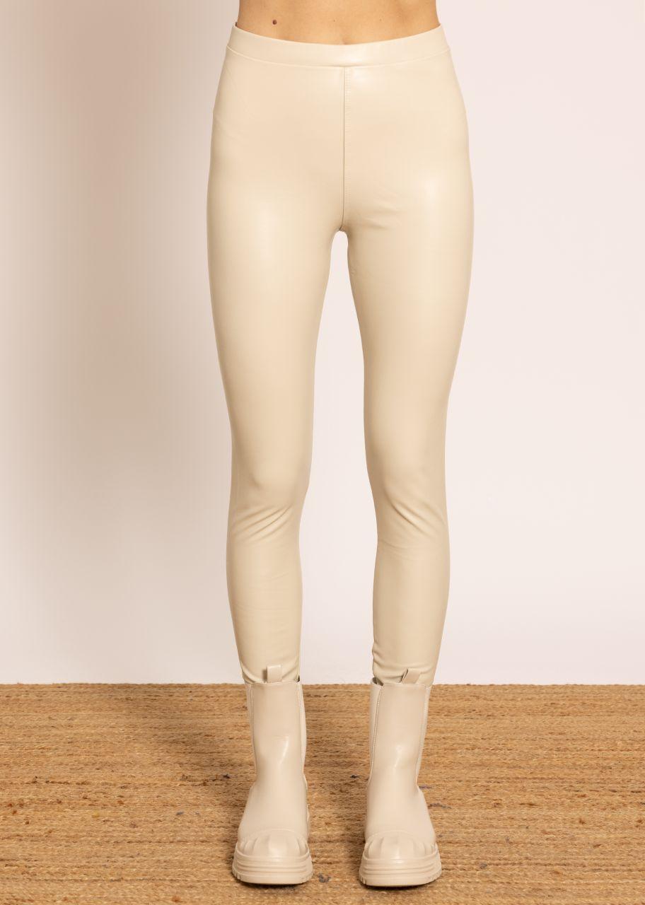 Thermo Leggings, beige