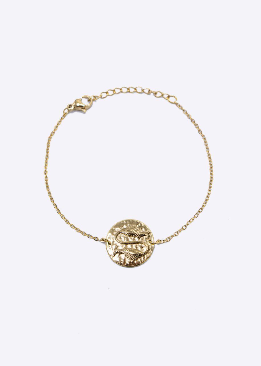 Armkette mit Sternzeichen Fisch, gold