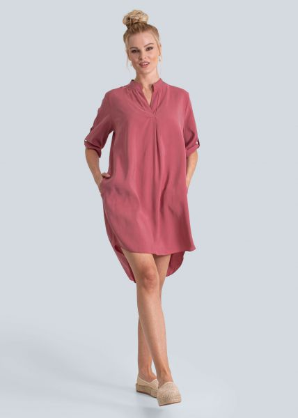 Tunika-Kleid, dunkelrosa