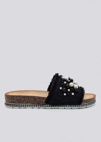 Perlen-Slider, schwarz