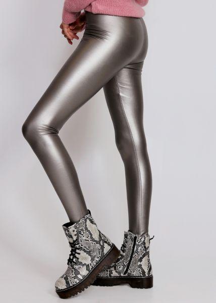 Thermo-Leggings, mattgold