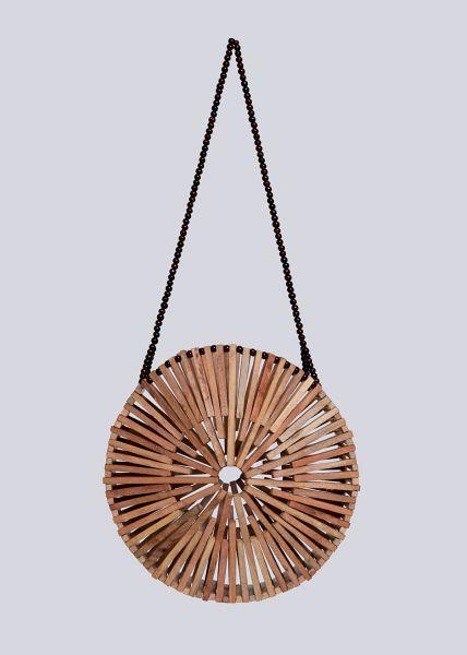 Holz-Tasche, braun