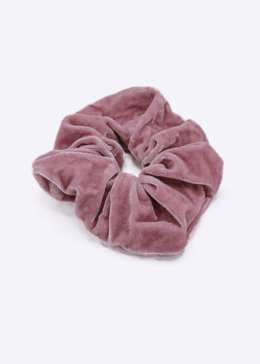 Scrunchie aus Velvet, rosa