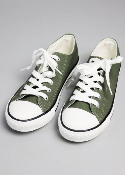 Low Top Sneaker, khaki