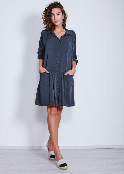 Hängerchen-Kleid, blau