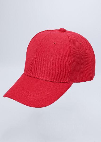 Baseball-Cap, rot