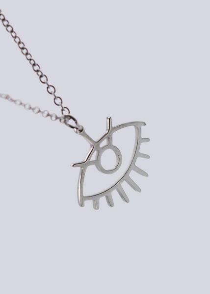 "Halskette ""Auge"", silber"