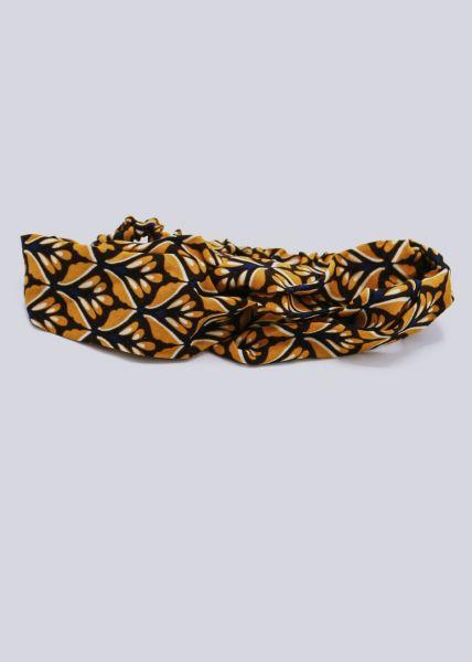 Haarband mit Print, gelb