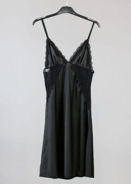 Nachthemd, schwarz