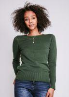 Pullover, dunkelgrün