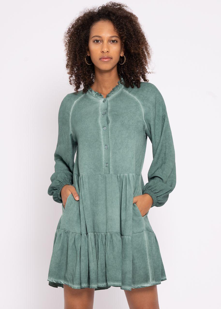 Hängerchenkleid mit Taschen, grün