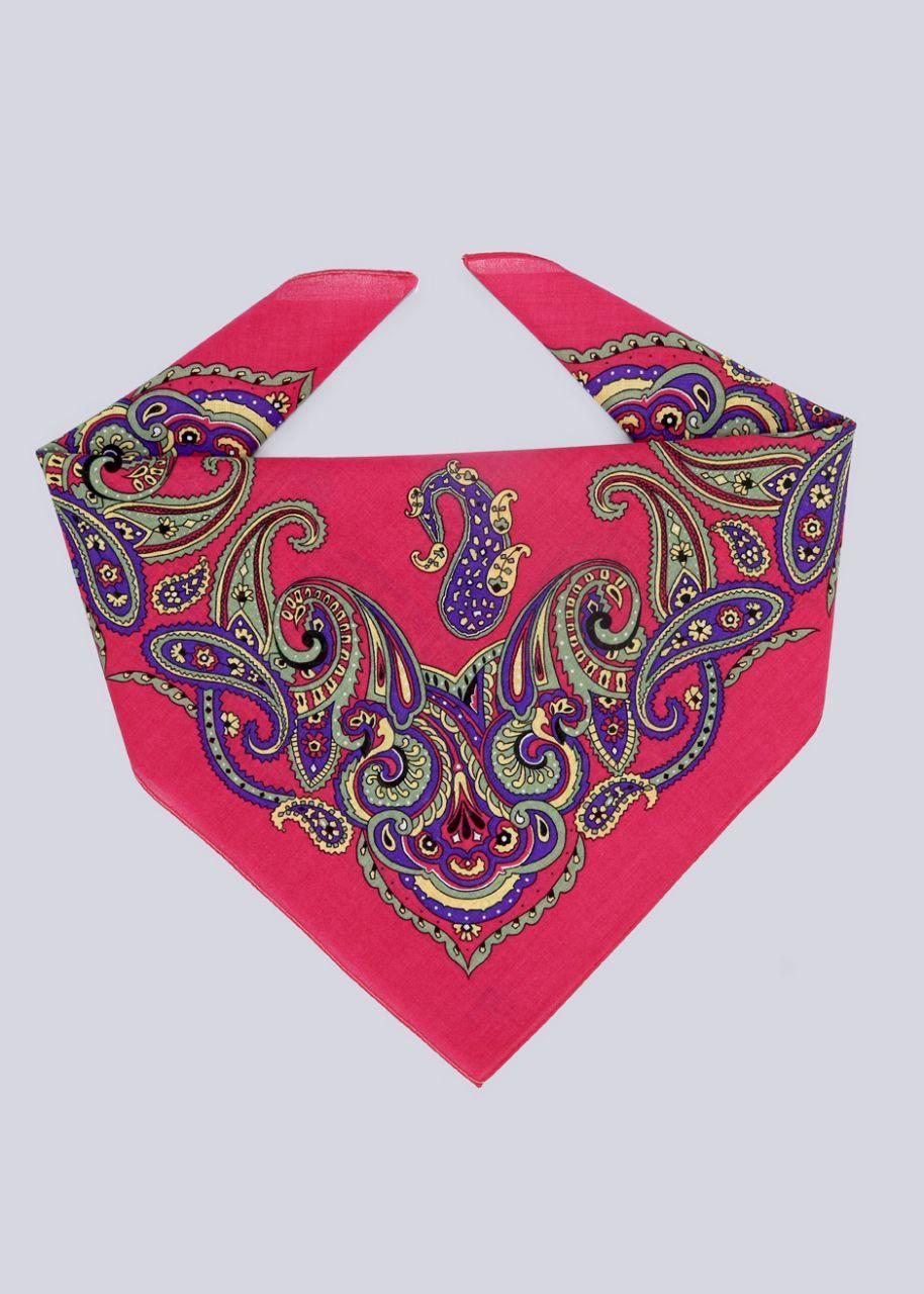 Bandana mit buntem Print, pink