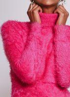Flausch-Rolli, pink