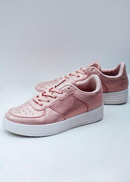 Metallic Sneaker, rosa