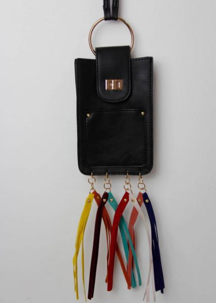 Crossbody-Minibag, schwarz