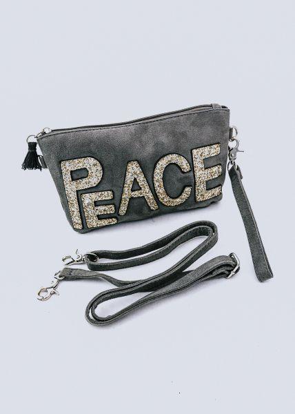 PEACE-Minibag, grau