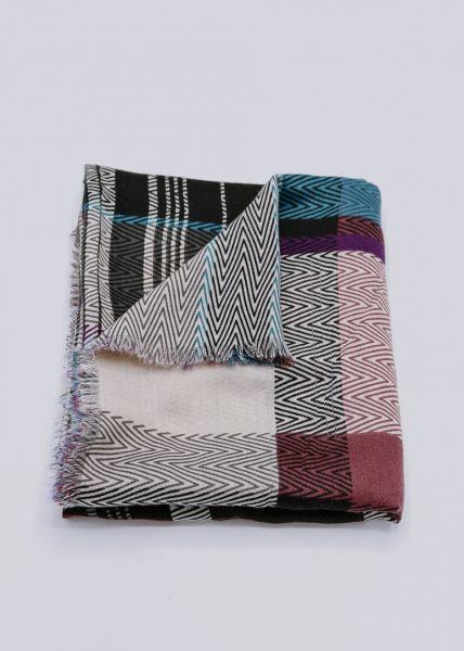 Schal mit Zick Zack Print