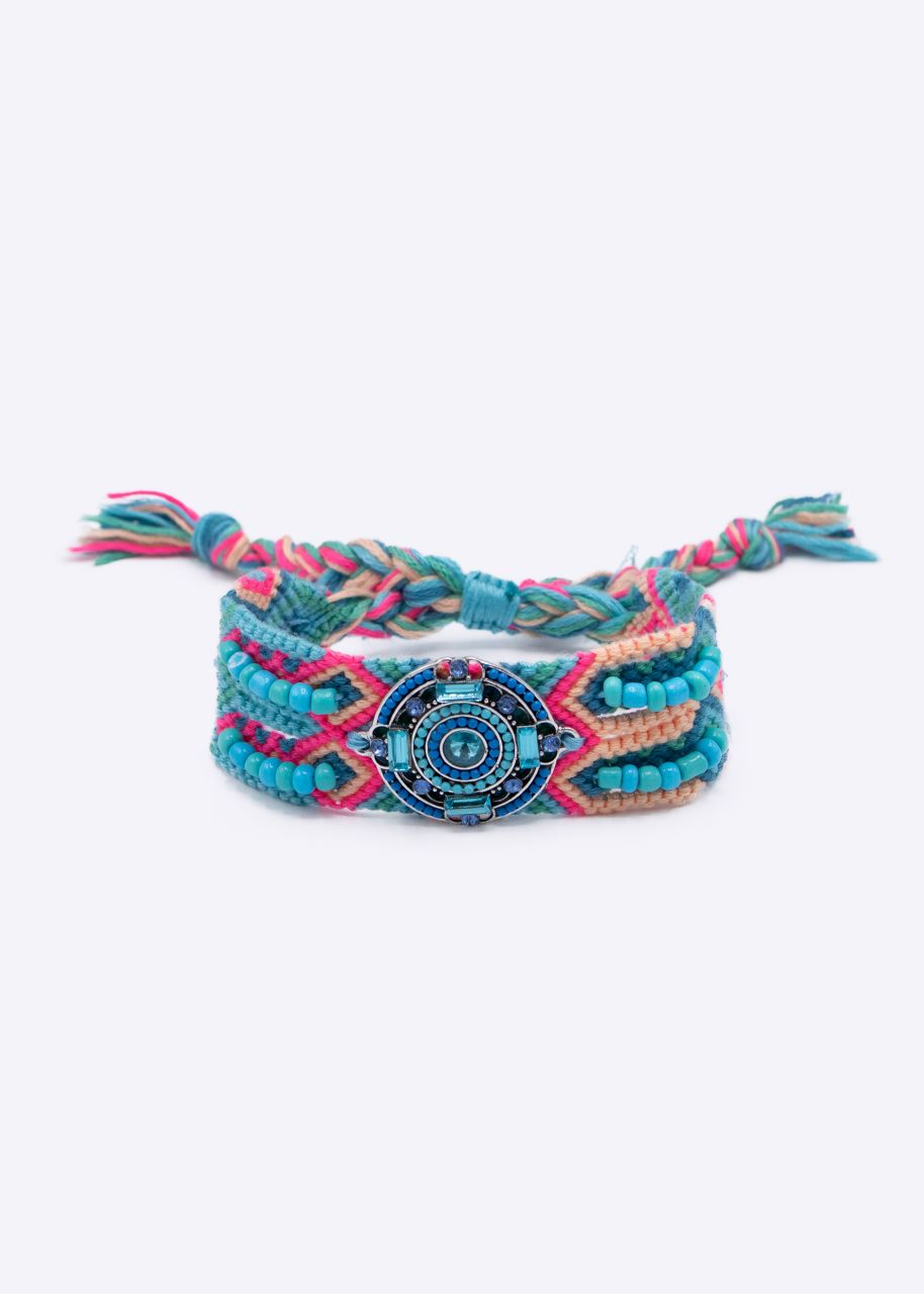 Boho Armband, türkis