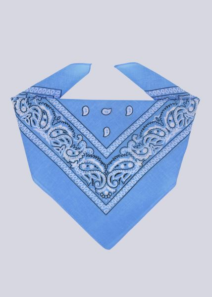 Bandana, blau
