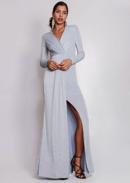 Abendkleid in silber