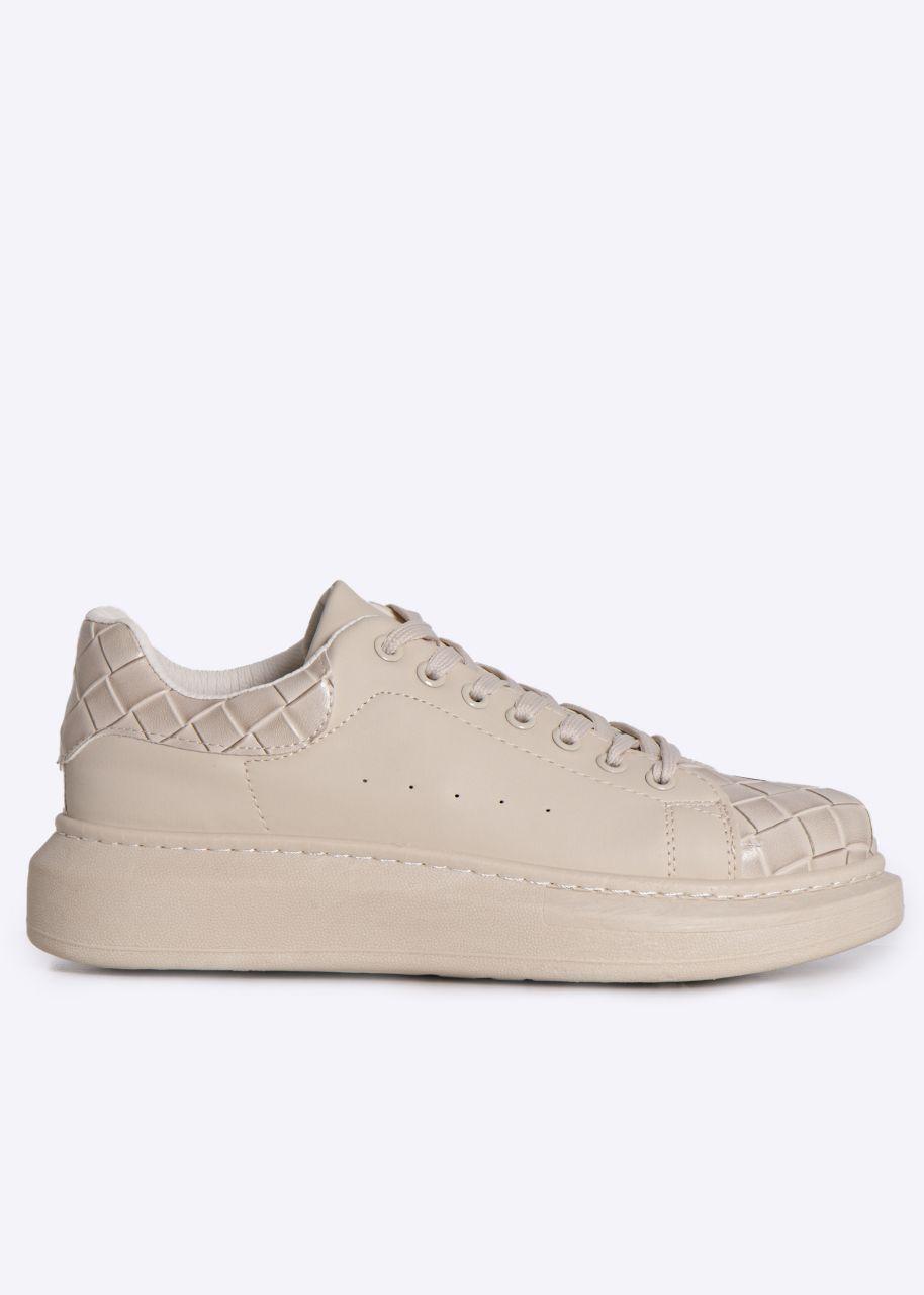 Sneaker, beige