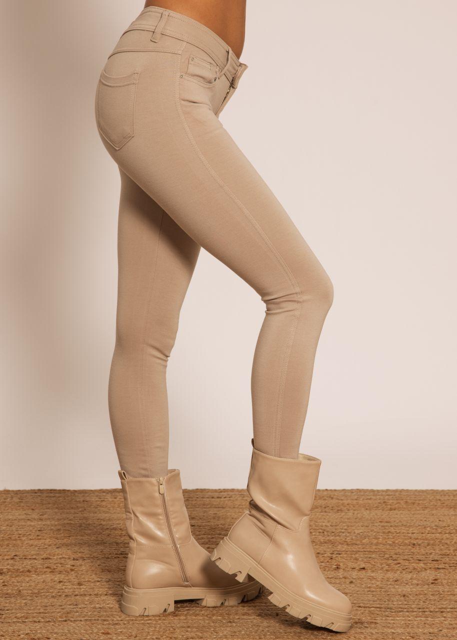 Leggings, beige