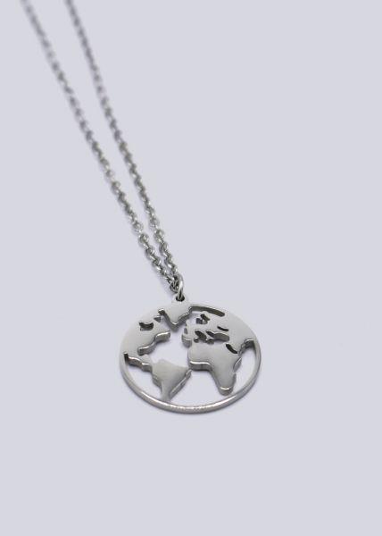 "Halskette ""Welt"", silber"