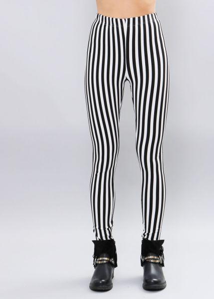 Streifen-Leggings