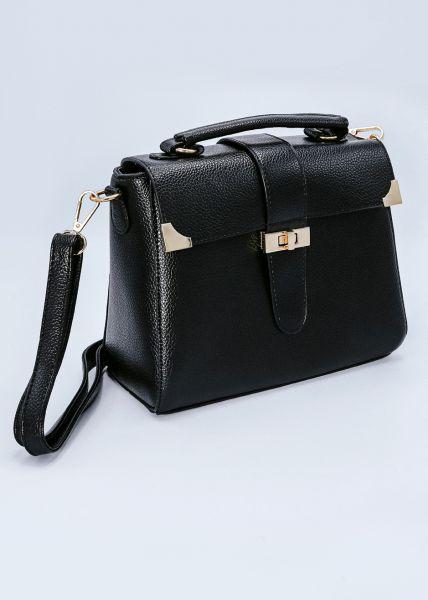 Tote-Bag, schwarz