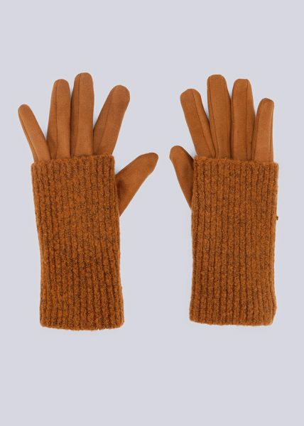 Handschuhe, camel