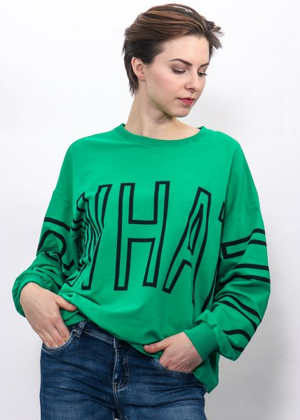 Oversize Sweatshirt, grün