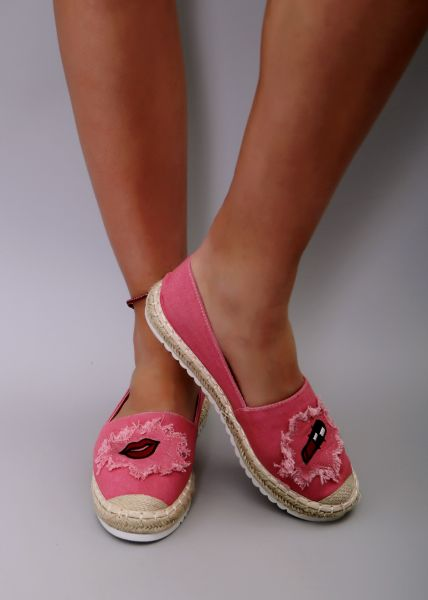 Espadrilles, pink