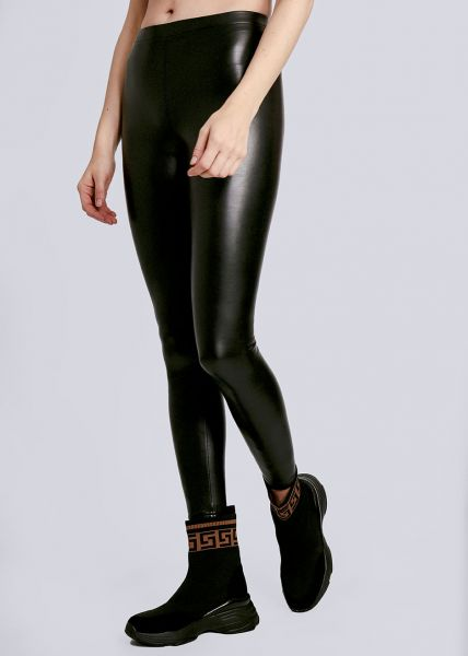Thermo-Leggings, schwarz