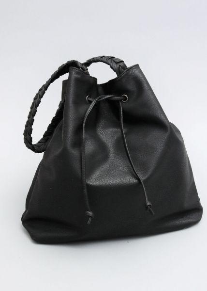 Shopper-Bag, schwarz