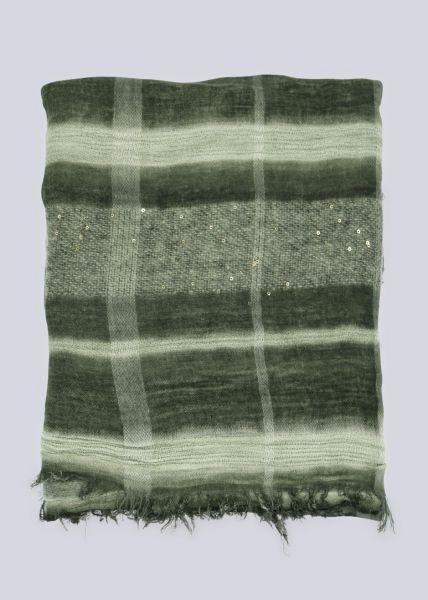 Feiner Schal, grün
