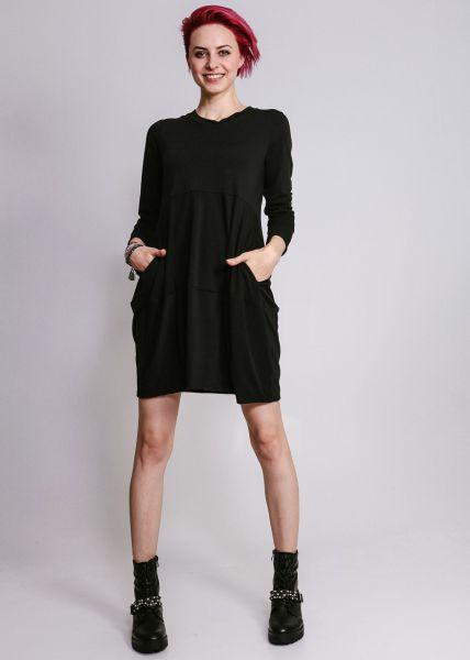 Jersey-Kleid, schwarz
