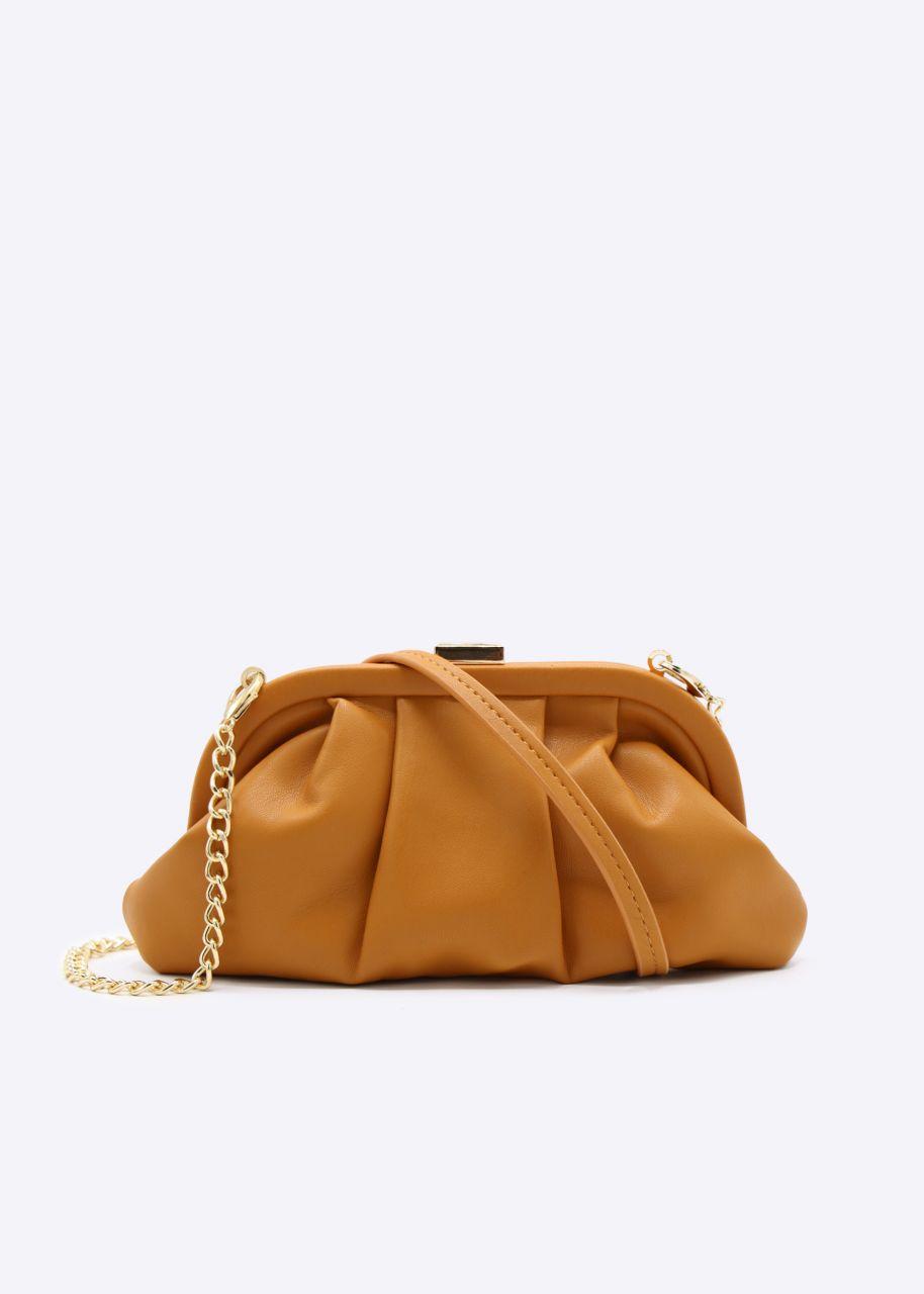 Slouchy Mini-Tasche, orange