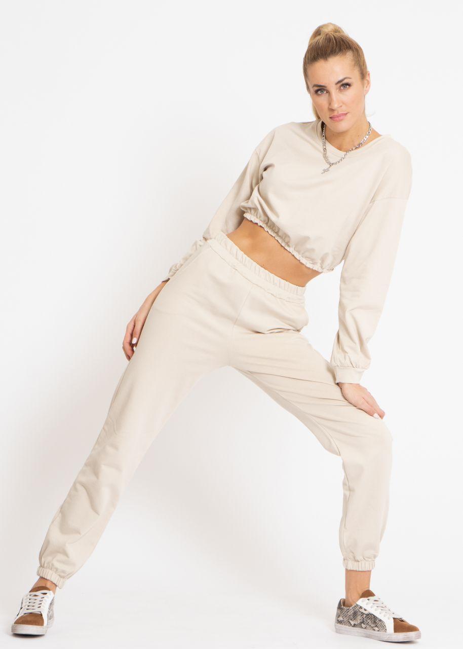 Lounge-Pants, beige