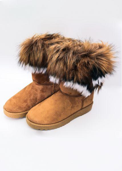 Fell-Boots, cognac