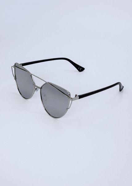 Must-Have Sonnenbrille, silbern