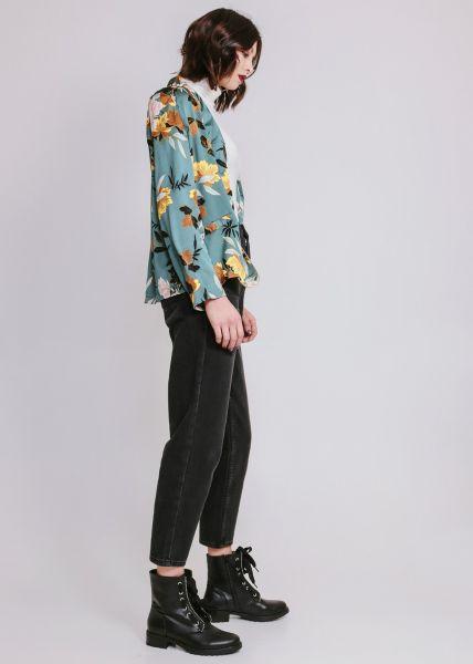 Kimono-Jacke, grün