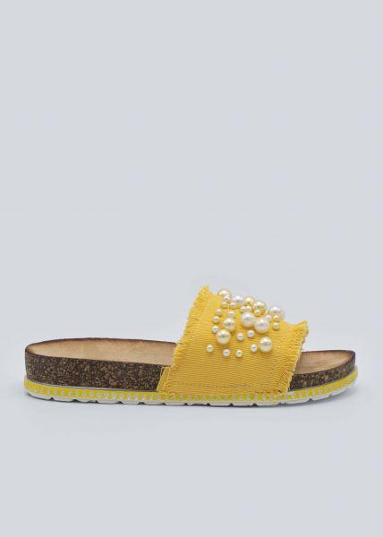 Perlen-Slider, gelb