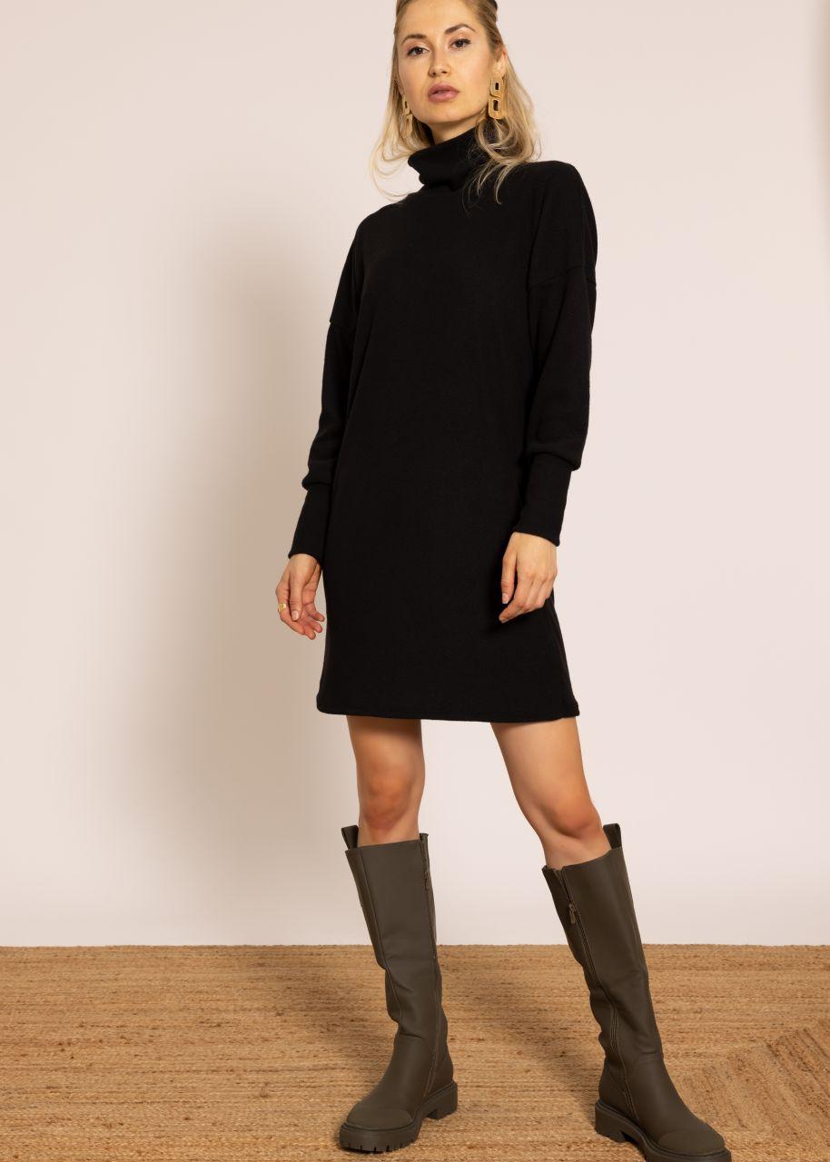 Pulloverkleid, schwarz