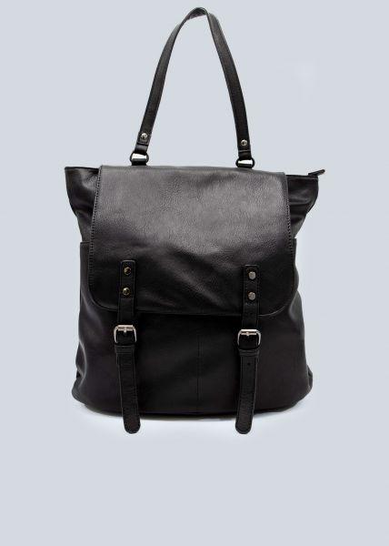 Softer Rucksack, schwarz