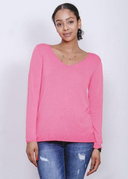 Langarm-Shirt, pink