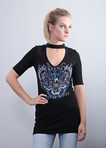 Band-Shirt, schwarz